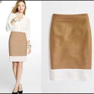 J. Crew pencil skirt wool blend size 2 NWT